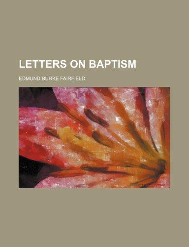 Letters on Baptism