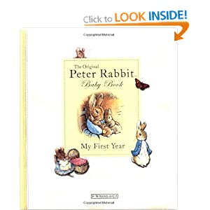 The Original Peter Rabbit Baby Book - My First Year (Beatrix