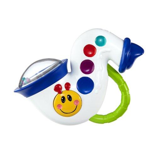 Baby Einstein Musical Toys : Baby einstein music and rattle saxophone reviews