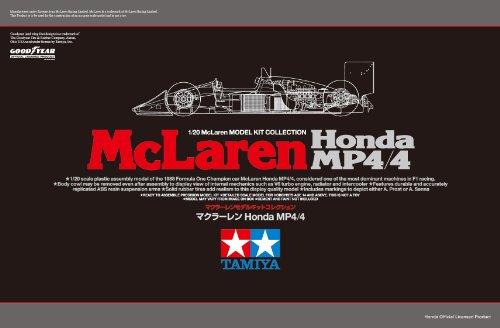 スケール限定シリーズ 1/20 マクラーレン Honda MP4/4 89719