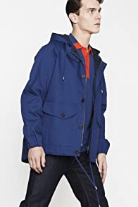 Hooded Cotton Double Face Car Coat