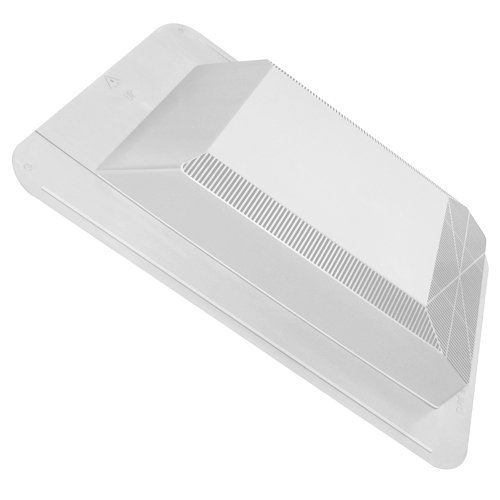 Canplas 60PRO50SLW WeatherPro Series Pro Slant Back Roof Vent, White