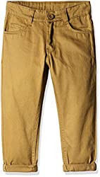 Cherokee Boys' Trousers (268320144_Brown_7 - 8 years)