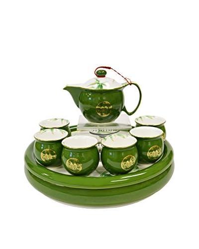 Auratic Pu Er & Kong Fu Tea Set, Green