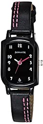 Sonata Analog Black Dial Womens Watch - 87001NL01A