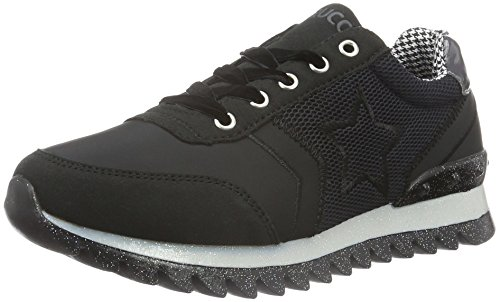 fiorucci-womens-fdaa004-low-top-sneakers-black-size-7