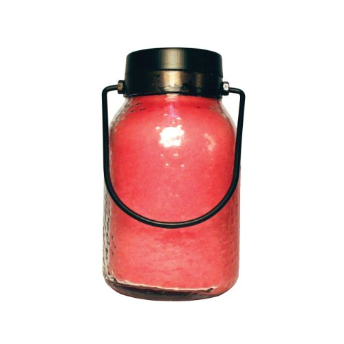 A Cheerful Giver Raspberry Lemonade Simplicity Lantern Jar Candle, 16-Ounce
