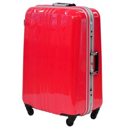 SPALDING スポルディングスーツケース TSAロック サブシェルロック ハードキャリー 60L 3日 4日用 60cm SP-0650-50 (ピンク)