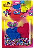 Coaster Kits Heart Hama Beads 4158