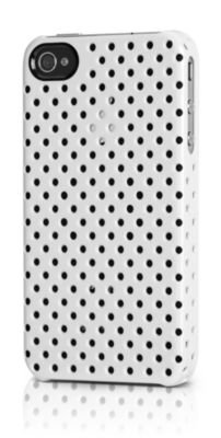 Incase Men's Perforated Snap Case V2 for Iphone 4, White, One Size