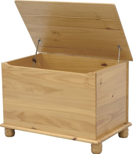 SOL Kiefer Decke/Spielzeug Box