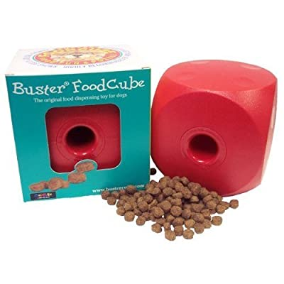 OurPets Buster Food Cube Interactive Dog Toy (Colors Vary)
