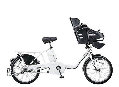 Panasonic(パナソニック) 2015年モデル ギュット・ミニ・DX カラー:アクティブホワイト 20インチ BE-ELMD03-F 子供乗せ付き電動アシスト自転車 専用充電器付
