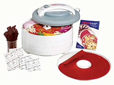Nesco American Harvest FD-61 Snackmaster Encore Dehydrator and Jerky Maker from Nesco