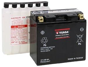 Yuasa YUAM624B4 YT14B-BS Battery by Yuasa