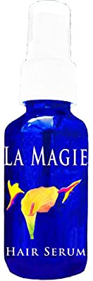 La Magie Hair Organic Fast Growth Serum Get Long, Beautiful Hair~First Organic Hair Serum, Now with anti Frizz