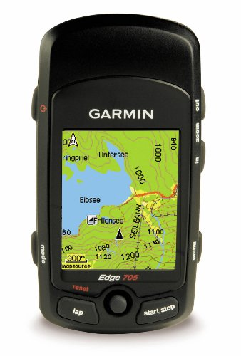Garmin Edge 705 GPS-Enabled Cycling Computer (Includes Heart Rate Monitor and Speed/Cadence Sensor)