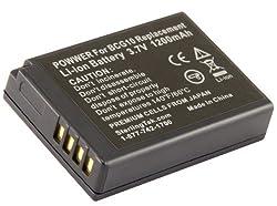 STK Panasonic DMW BCG10PP Battery - 1200mAh for Panasonic Lumix DMC-ZS19, DMC-ZS8, DMC-ZS10, DMC-ZS20, DMC-ZS7, DMC-ZS3, DMC-ZS15, DMC-ZS5, DMC-ZS1, DMC-ZS6, DMC-TZ20, DMC-TZ7, DMC-TZ30, DMC-ZR1, DMC-TZ10, DMC-ZR3, DMC-TZ19, DMW-BCG10PP, DMW-BCG10, DMW-BC