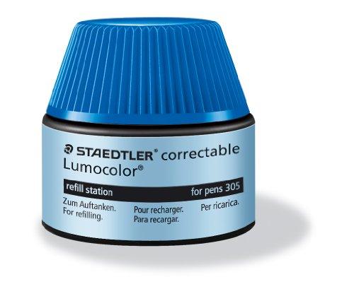 Staedtler lumocolor refill station 487 05, bleu