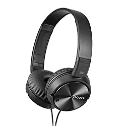 Sony MDR-ZX110NC  On-Ear Digital Noise Cancelling Headphone  (Black)