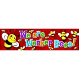 Eureka Classroom Banner, We Are Worker Bees, 12 x 45 Inches (849713)