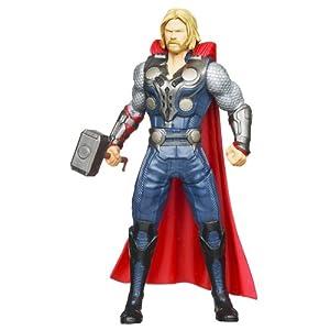 Marvel The Avengers Mighty Battlers Hammer Slinging Thor Figure