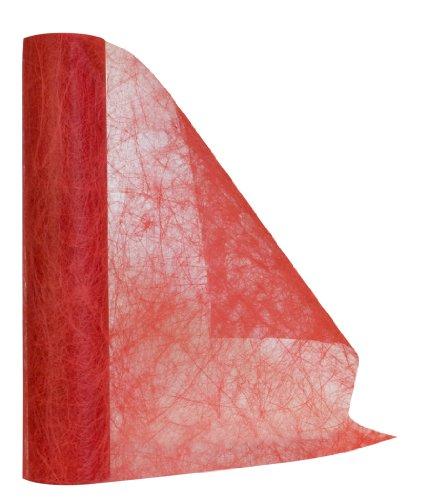 DIGE n27we01b/07 - Chemin de table ECO en tissu non tissé, rouge