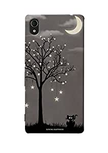 Sowing Happiness Printed Back Cover For Sony Xperia M4 Aqua