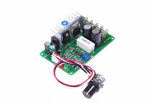 SMAKN® CCMHCW PWM DC Motor Speed Controller Adjustable Current Overload Protector 12V 24V 36V 15A (Pwm Motor Speed Controller compare prices)