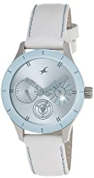 Fastrack Monochrome Analog Blue Dial Womens Watch - NE6078SL08