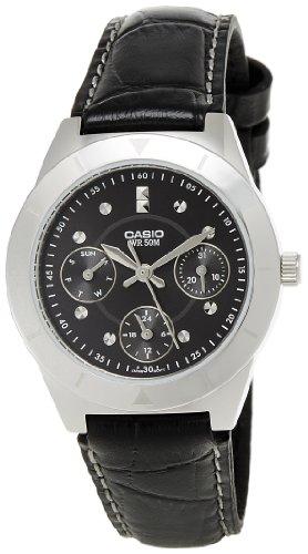 Casio Enticer Black Dial Womens Watch - LTP-2083L-1AVDF (A531)