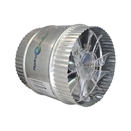 """600 Cfm Duct Fan Work : Hydroplanet """"¢ inch duct booster fan exhaust high"""