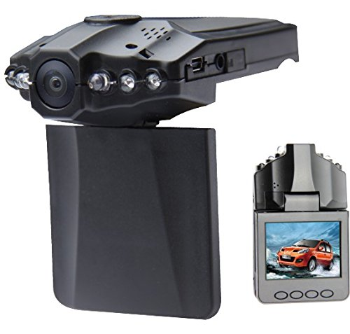 TELECAMERA CAMERA ON BOARD DVR PER AUTO CON MONITOR 720P SPY VIDEO SORVEGLIANZA card memori esclusa