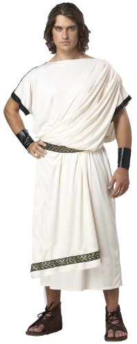 Men's Deluxe Classic Toga Set