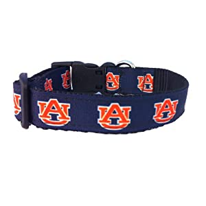 NCAA Auburn Tigers Dog Collar (Team Color, Small)