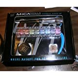 Micabella Mineral Makeup Set. 8stack Tropical+wild Rose Mb6 Blush+powder Brush+shimmer