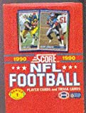 1990 Score Football Cards Unopened Box Series 1