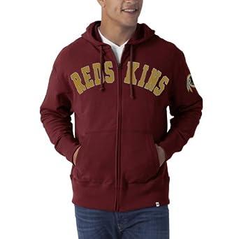 NFL Washington Redskins Mens Striker Full Zip Jacket by