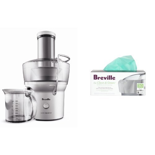 Vonshef Masticating Juicer Reviews : Breville BJE200XL Compact Juicer and Biodegradable Juicer Bags Masticating Juicer Reviews