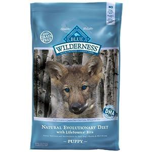 Blue Buffalo Wilderness Dry Puppy Food - 24 lb bag