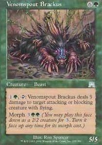 Magic: the Gathering - Venomspout Brackus - Brako Sputaveleno - Onslaught - Foil