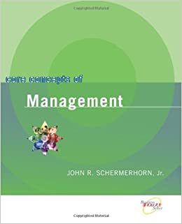 core concepts of management schermerhorn Core concepts of management schermerhorn principles of management 29 nov 2004 cmsu ms long the _____ process _____b_____ is an interpersonal process of sending and.