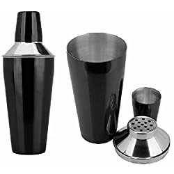 Black Color Cocktail Shaker 750 Ml