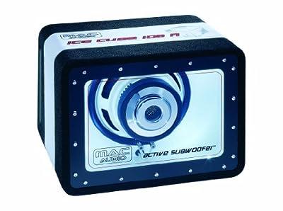 Mac Audio Ice Cube 108A aktiver Bandpass-Subwoofer (150 Watt, 200 mm) von Magnat Audio-Produkte GmbH - Reifen Onlineshop