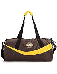 Believe Kit Bag Gym Bag  (Maroon, Yellow) / Sports Bag / Duffle Bag