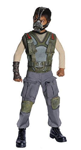 Boys Bane Deluxe Kids Child Fancy Dress Party Halloween Costume