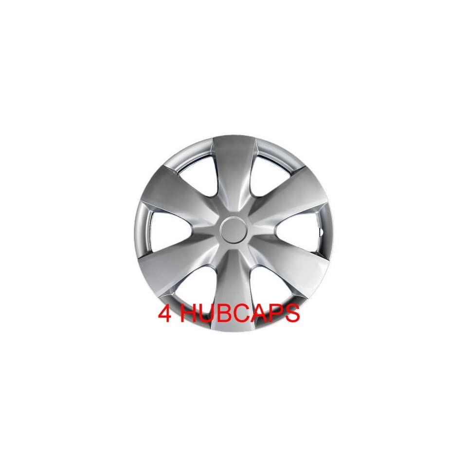 15 SET OF 4 HUBCAPS TOYOTA Yaris WHEEL COVERS DESIGN ARE UNIVERSAL HUB CAPS FIT MOST 15 INCH WHEELS