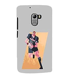 EPICCASE Rugby me Mobile Back Case Cover For Lenovo Vibe K4 Note (Designer Case)
