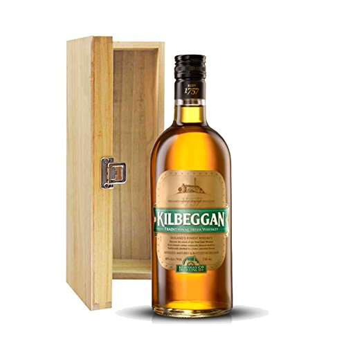 Kilbeggan Blended Irish Whiskey in Wooden Gift Box
