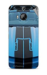 Miicreations Mobile Skin Sticker For HTC One M9 Plus,Racing Car